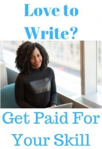 Love to write? get paid for your skill. click here